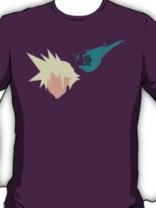 Final Fantasy 7 Cloud Vector T-Shirt