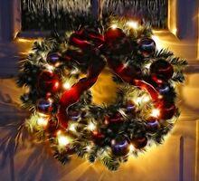 Fractal wreath by Annika Strömgren
