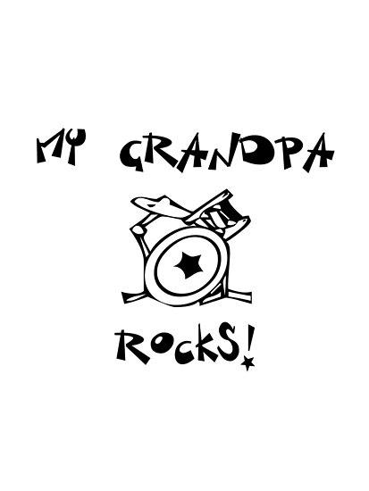 My Grandpa Rocks! Drums by surgedesigns