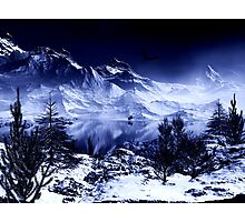 Blue mountains Photographic Print