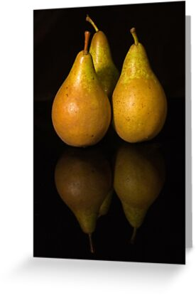 Pear-fect Trio by Anna Ridley