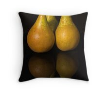Pear-fect Trio Throw Pillow