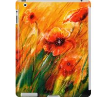 Flowers...Poppy Fields iPad Case/Skin