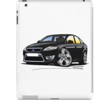 Ford Mondeo (Mk4) X Sport Black iPad Case/Skin