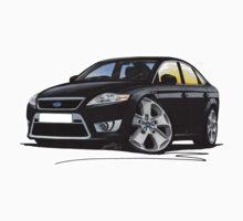 Ford Mondeo (Mk4) X Sport Black Kids Tee