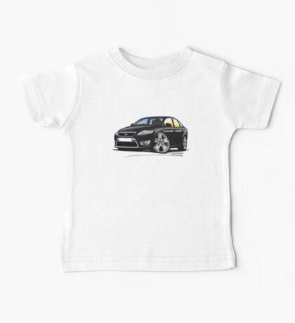Ford Mondeo (Mk4) X Sport Black Baby Tee