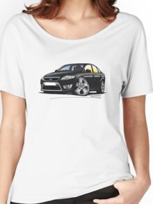 Ford Mondeo (Mk4) X Sport Black Women's Relaxed Fit T-Shirt