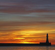 Roker Beach by Anna Ridley