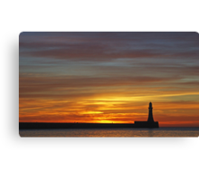 Roker Beach Canvas Print