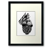 Beard Ship Framed Print