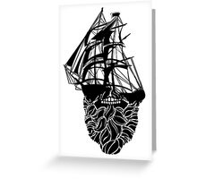 Beard Ship Greeting Card