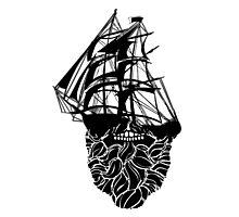 Beard Ship Photographic Print