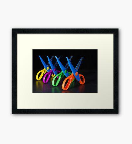 Snip! Framed Print