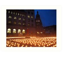 World AIDS day, Copenhagen Art Print