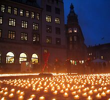 World AIDS day, Copenhagen by John Douglas