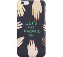 Let's put nail polish on iPhone Case/Skin