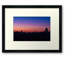 Havana Sunset Framed Print