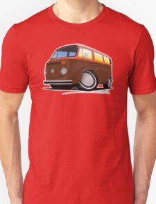 VW Bay Window Camper Van (F) T-Shirt