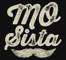 MOVEMBER - Mo Sista White by gazbar