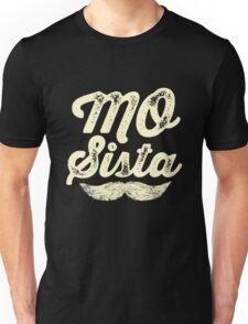 MOVEMBER - Mo Sista White Unisex T-Shirt