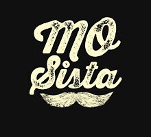 MOVEMBER - Mo Sista White Womens Fitted T-Shirt