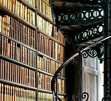 Trinity Library Dublin Ireland by woodnimages