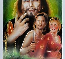 Big Trouble In Little China Art by jasonkincaid