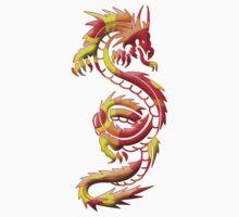 Dragon Silhouette One Piece - Long Sleeve