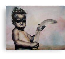 Aboriginal Boy Metal Print