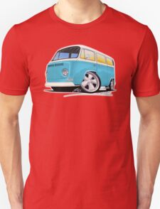 VW Bay Window Camper Van (E) T-Shirt