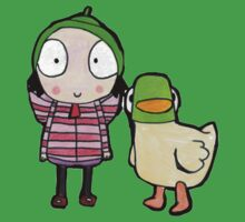 sarah and duck Baby Tee