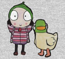 sarah and duck Kids Tee