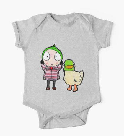 sarah and duck One Piece - Short Sleeve