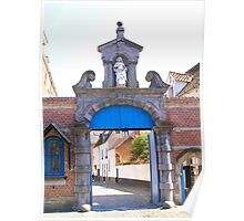 Lier - Beguinage Baroque Entrance Porch Poster
