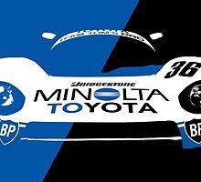 Minolta Toyota LeMans Print by Lynchie