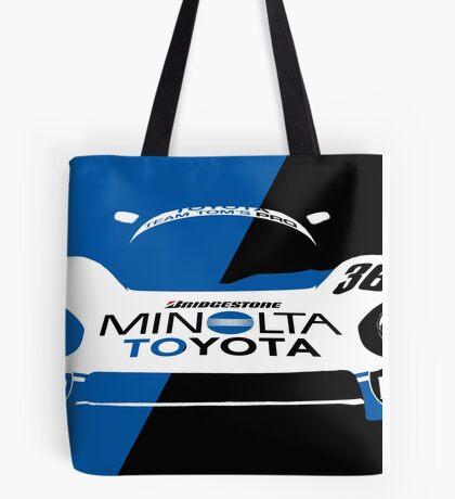 Minolta Toyota LeMans Print Tote Bag