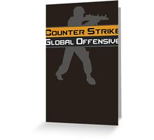 Counter Strike Global Offensive Greeting Card
