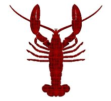 Lobster silhouette by surgedesigns