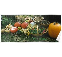 Fall Harvest Poster