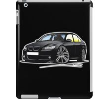 BMW 3-series (E90) Black iPad Case/Skin