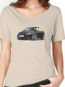 BMW 3-series (E90) Black Women's Relaxed Fit T-Shirt