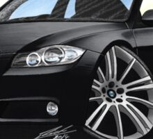 BMW 3-series (E90) Black Sticker