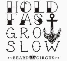 Hold Fast Grow Slow 2 BLK by mijumi