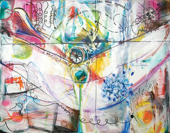 The Genetic Bill of Rights Painting Series Signature Piece by Mariam Muradian