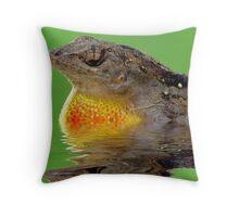 Dragon Of The Pond Throw Pillow