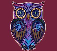 Ornate Owl 9 by Vicky Stonebridge