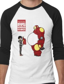 Big Hero Stark Men's Baseball ¾ T-Shirt