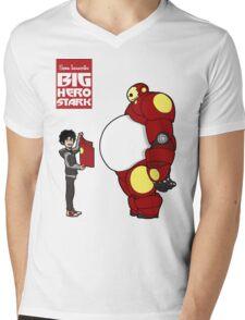 Big Hero Stark Mens V-Neck T-Shirt