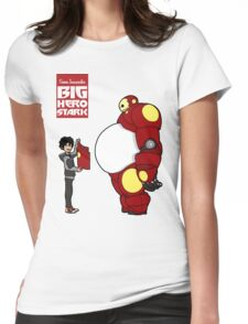Big Hero Stark Womens Fitted T-Shirt