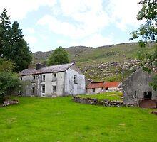 old abandoned Irish farmhouse by morrbyte